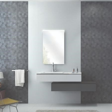 30cm x 60cm Modello Anthracite Decor Wall Tile