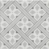33cm x 33cm Belgravia Grey Floor Tile