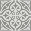 33cm x 33cm Mayfair Grey Floor Tile