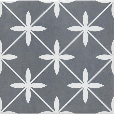 33cm x 33cm Regent Grey Floor Tile