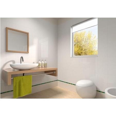 25cm x 40cm Gloss White Wall Tile