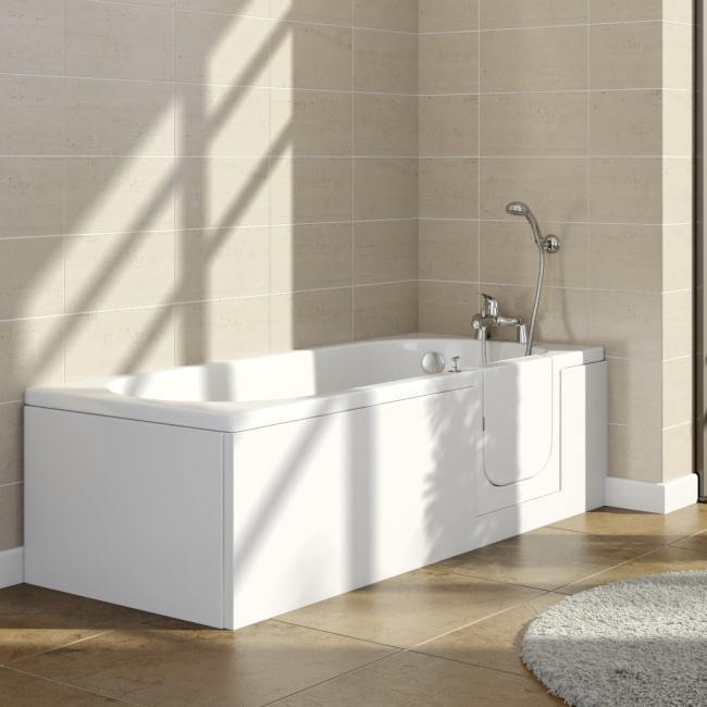 Columbia 1695mm Right Hand Easy Access Walk In Bath