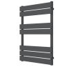 Tundra Anthracite Heated Towel Rail - 800 x 600mm