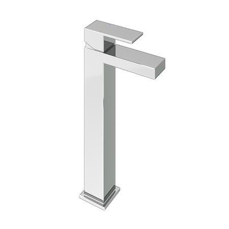 Lex Chrome Tall Basin Mixer Tap