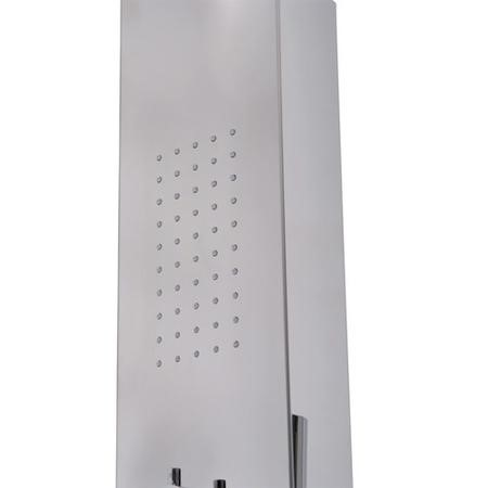 AquaDuo Thermostatic Shower Tower Panel