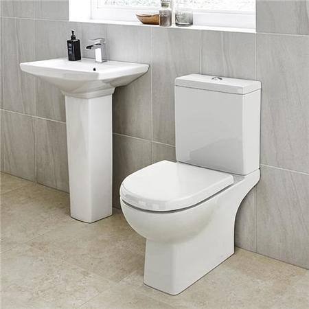 Modena 60 Full Pedestal Bathroom Suite