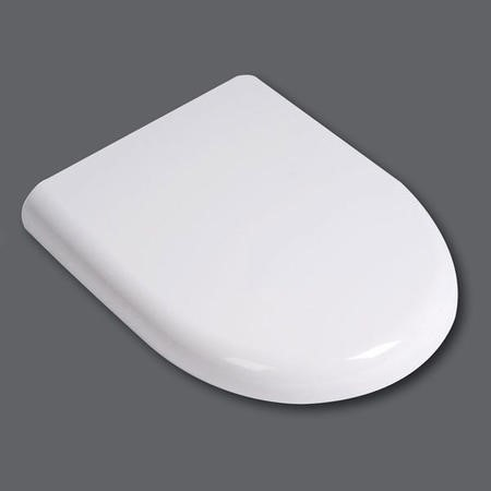 Micro Soft Close White Toilet Seat