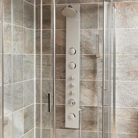EcoWave Thermostatic Shower Tower Panel