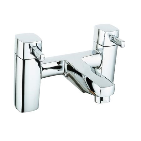 Chrome Deck Mounted Bath Filler Tap