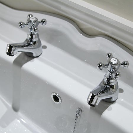 Ritz Traditional Basin Taps