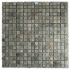 Porto Stone and Metal Effect Wall Mosaic