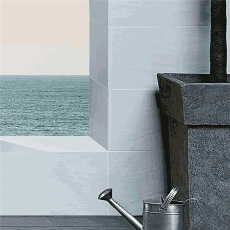 Ardosia Perola Slate Effect Glazed Porcelain Wall/Floor Tile