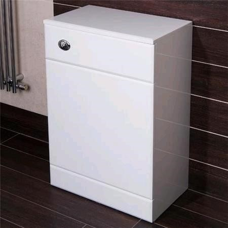 500mm WC Toilet Unit - White - Windsor Range