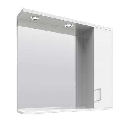 Windsor 750 Mirror with Cabinet & 2 Lights 1000L 750W 170D
