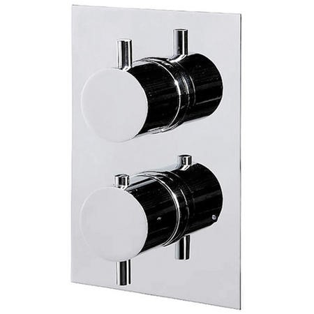 GRADE A1 - Concealed Dual Control Thermostatic Shower Valve - S9 Range