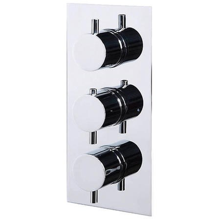 Concealed Triple Control Thermostatic Shower Valve - S9 Range