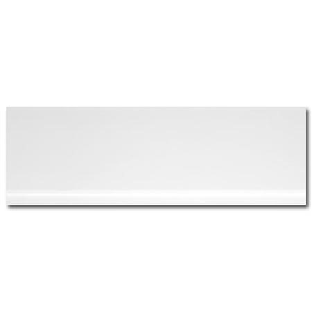 Windsor / Cuba / Aspen White 1700 Height Adjustable Panel with Plinth