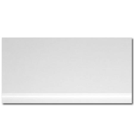Windsor / Cuba / Aspen White 700 Height Adjustable End Panel