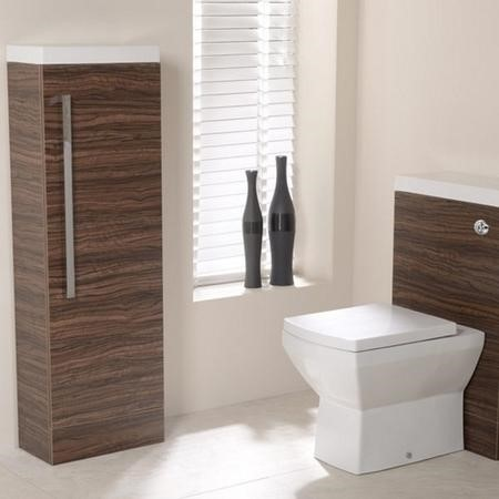 1200mm Floor Standing Cabinet - Walnut Single Door - TD Range