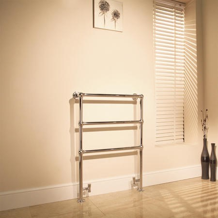 Chelsea Traditional Bathroom Towel Rail Radiator - 966 x 673mm