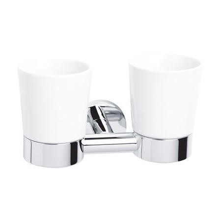 Classic Double Tumbler & Holder