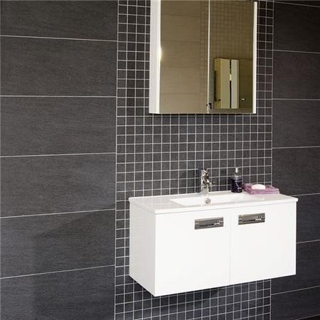 Quattro Black Wall/Floor Tile