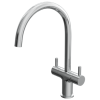 Reginox Double Lever Kitchen Mixer Tap - Chrome