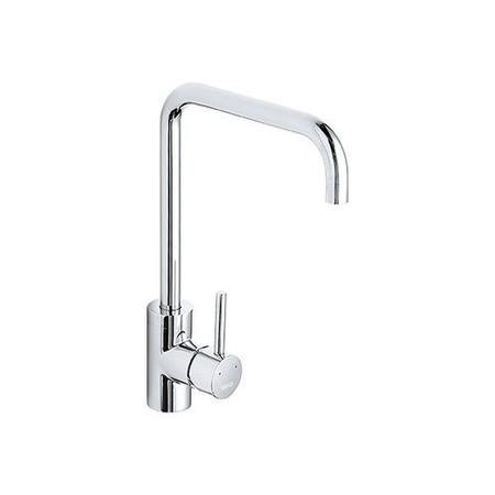 1810 Sink Company Cascata Square Spout Single Lever Aerated Mixer Tap Chrome