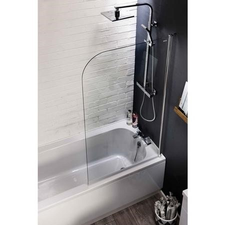 Curved Corner Shower Screen 1400 x 800mm