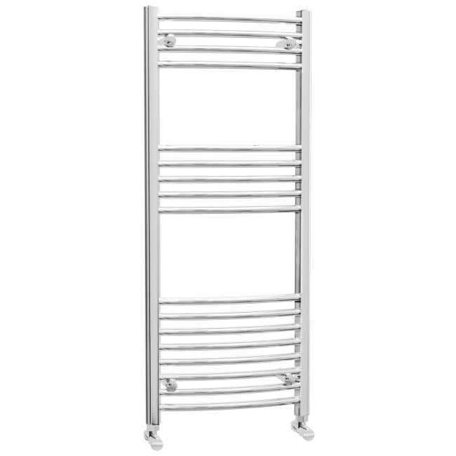 Ellie Chrome Heated Towel Rail - 500 x 1200mm