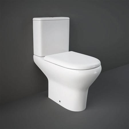 RAK Compact Deluxe 45cm High Full Access WC Pack with Soft Close Seat Urea