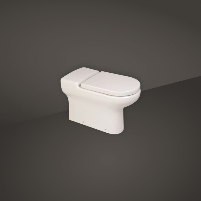 RAK Compact Deluxe Rimless Wall Hung WC Pan