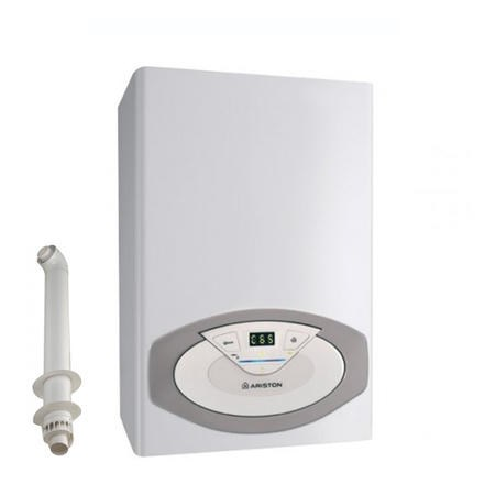 Ariston Clas HE 24 kW Regular Conventional Gas Boiler with Free Horizontal Flue Kit - 5 Years Warranty