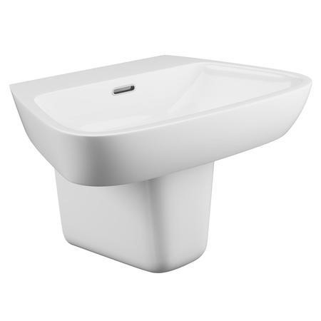 Step Wall Mount Sink - 1 Tap Hole