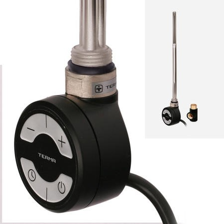 Terma MOA 800W Heating Element Black + T-Piece