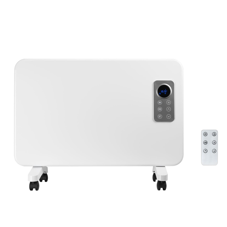 Electriq 1000w Slim Wall Mountable, Bathroom Safe Heater