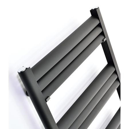Accuro Korle Champagne Towel Radiator Anthracite - 1200 x 500mm