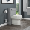 Grey Back to Wall WC Unit - W500 x H815mm