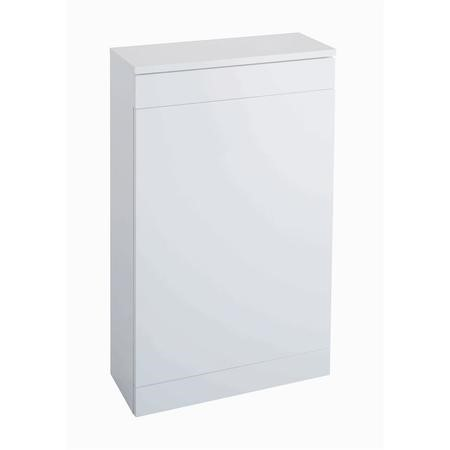 White Back to Wall WC Unit - W500 x H815mm