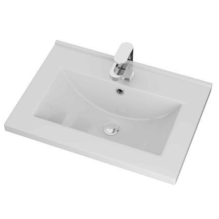 Moderno 600 Ceramic Mid Edge Basin