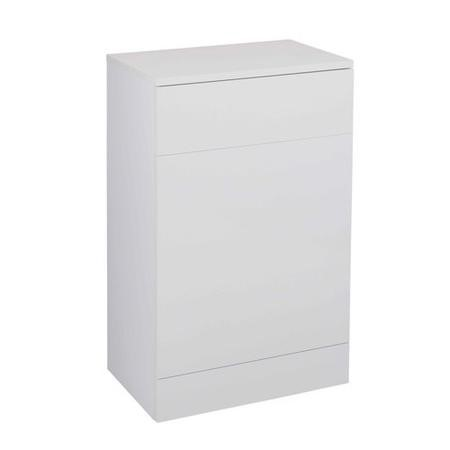 White Back to Wall WC Toilet Unit - Without Toilet - W600 x D300mm