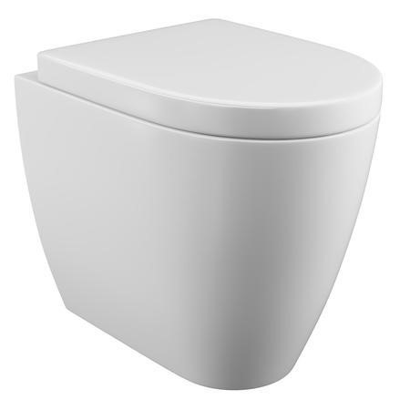 Curve Back to Wall Toilet with Soft Close Seat
