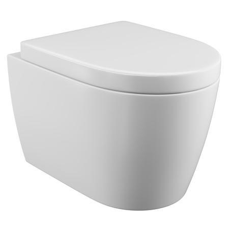 Curve Wall Hung Toilet with Soft Close Seat
