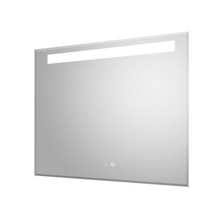 Zonda 800mm Bathroom Mirror With Touch Sensor Technology