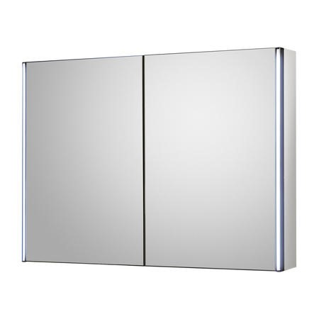 Mirror Cabinet Double Door with LED Lighting - Aries 800mm