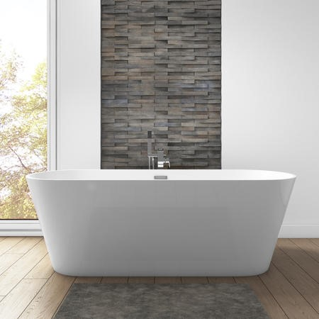 Mews Double Ended Freestanding Bath - 1650 x 740mm