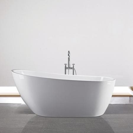 Garbo Modern Freestanding Slipper Bath - 1740 x 780 x 720mm