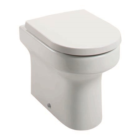 Arc Back to Wall Toilet - Without Seat