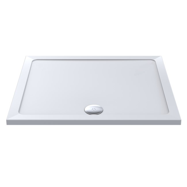 Rectangular Low Profile Shower Tray 1500 x 800mm - Purity