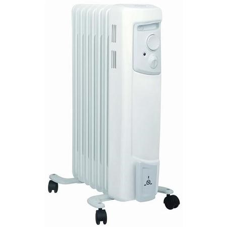 Dimplex 1.5kw Oil Filled Radiator 2 Heat Settings Thermostat
